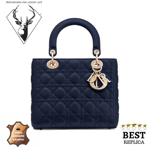 replica-Lady-Dior-BAG-IN-BLUE-LAMBSKIN-motivations-for-luxury-life