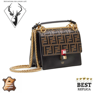 replica-Fendi-KAN-I-Black-Leather-Bag-motivations-for-luxury-life