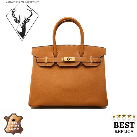 replica-Hermes-Birkin-TOFFEE -motivations-for-luxury-life
