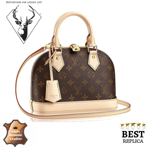 replica-Louis-Vuitton-Alma-BB-Monogram-motivations-for-luxury-life