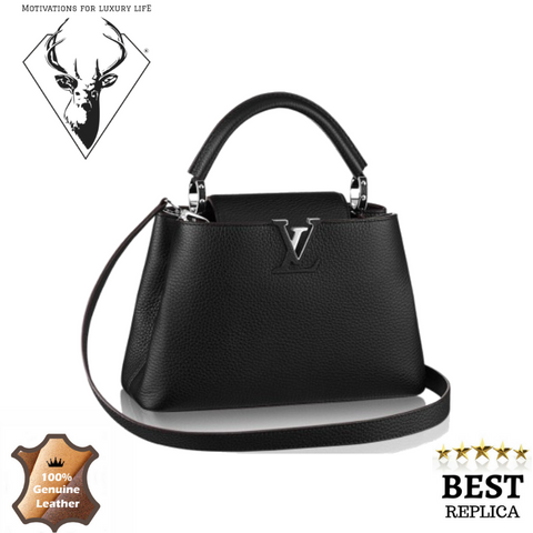 replica-Louis-Vuitton-Taurillon-Capucines-BB-Black-motivations-for-luxury-life