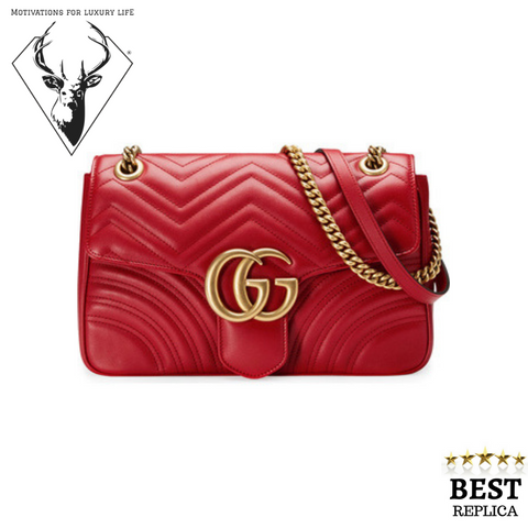 replica-Gucci-MARMONT-Matelassé-Red-Bag-motivations-for-luxury-life