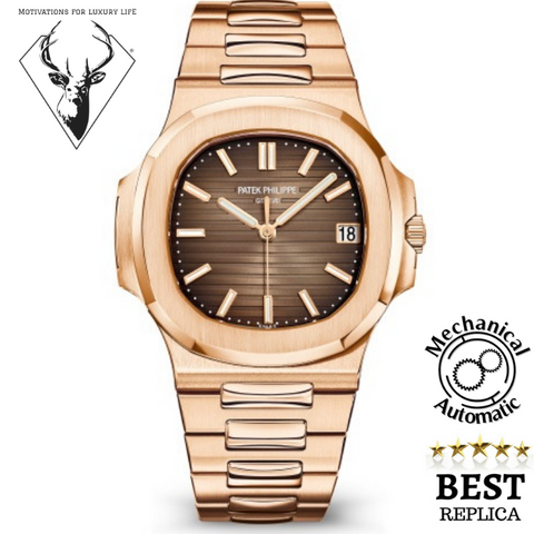 Replica-Patek-Philippe-NAUTILUS-5711/1A-Brown-motivations-for-luxury-life