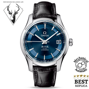 replica-Omega-De-Ville-Hour-Vision-blue-motivations-for-luxury-life