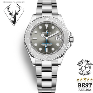 Replica-Rolex-YACHT-MASTER-DARK-RHODIUM-DIAL-motivations-for-luxury-life