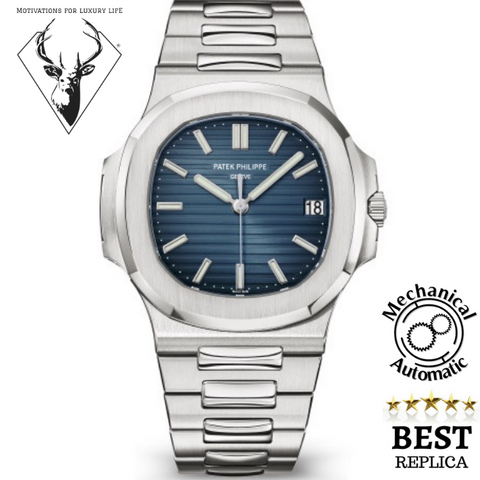 Replica-Patek-Philippe-NAUTILUS-5711/1A-Gray-Blue-motivations-for-luxury-life