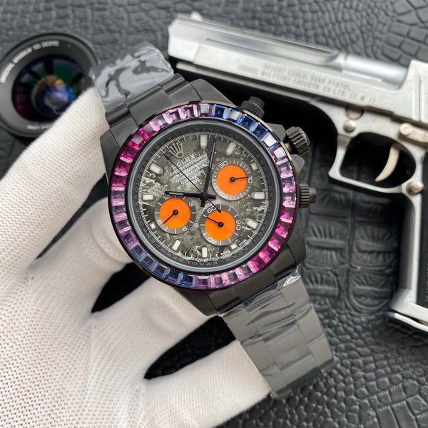 replica-Rolex-gray-DIAMOND-DAYTONA-motivations-for-luxury-life