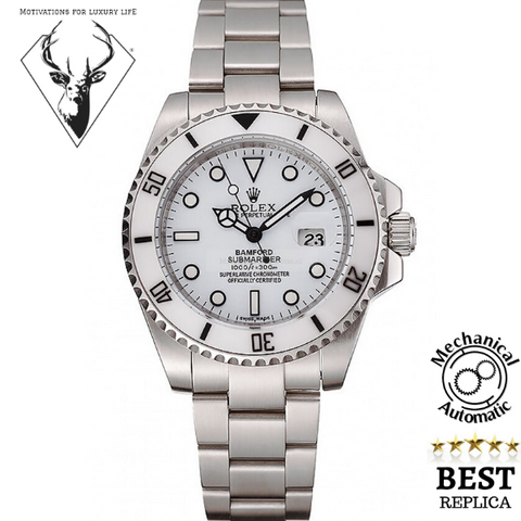 replica-Rolex-BAMFORD-SUBMARINER-WHITE-motivations-for-luxury-life
