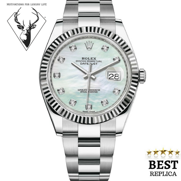 Replica-Rolex-DATEJUST-41-Motivations-For-Luxury-Life