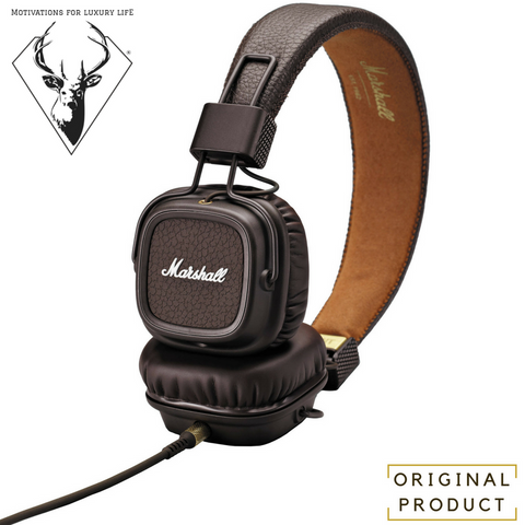 Brown Marshall Audio Major On-Ear Stereo Headphones