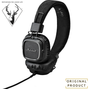 black Marshall Audio Major On-Ear Stereo Headphones