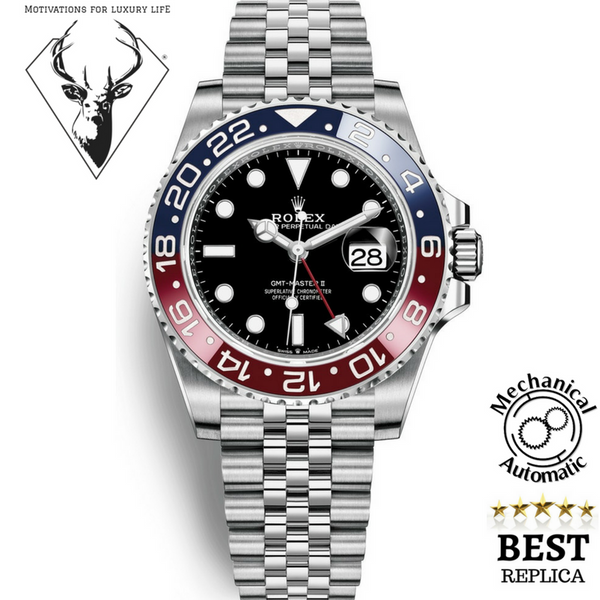 Replica-2018-Rolex-GMT-MASTER-II-pepsi-Motivations-For-Luxury-Life