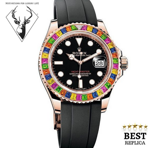 replica-Rolex-YACHT-MASTER-RAINBOW-motivations-for-luxury-life