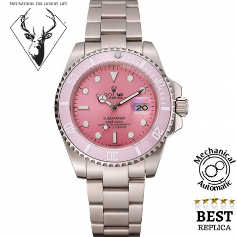 replica-Rolex-Submariner-Pink-motivations-for-luxury-life