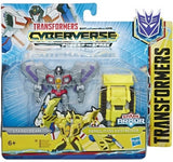 Transformers Cyberverse Spark Armor Starscream with Demolition Destroyer