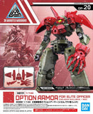 30MM 1/144 Option Armor for Elite Officer (Cielnova Exclusive / Red)