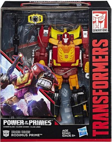 Transformers Power of the Primes Evolution Rodimus Prime (With Hot Rod)