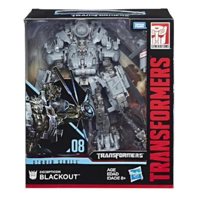 Transformers Studio Series Blackout (Movie 1)