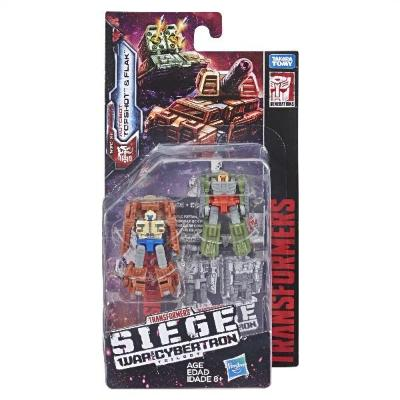 Transformers Siege Micromasters Topshot & Flak