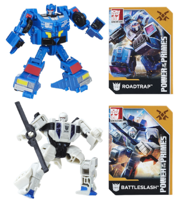 Transformers Power of the Primes Roadtrap & Battleslash Set
