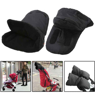 1 Pair Baby Pram Stroller Gloves Warm Fleece