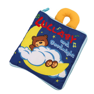 12 Pages Soft Cloth Baby Books Rustle Sound Infant Educational