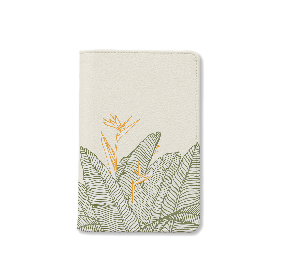 BISU BISU - PASSPORT HOLDER - BANANA LEAVES