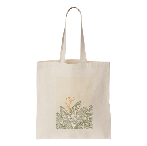 BISU BISU - TOTE BAG - BANANA LEAVES