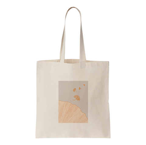BISU BISU - TOTE BAG - GINKGO LEAVES