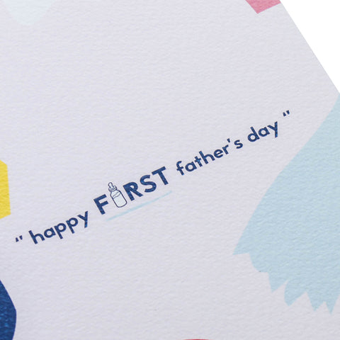 TRAQUE STUDIO - CARD - FIRST'S FATHER DAY