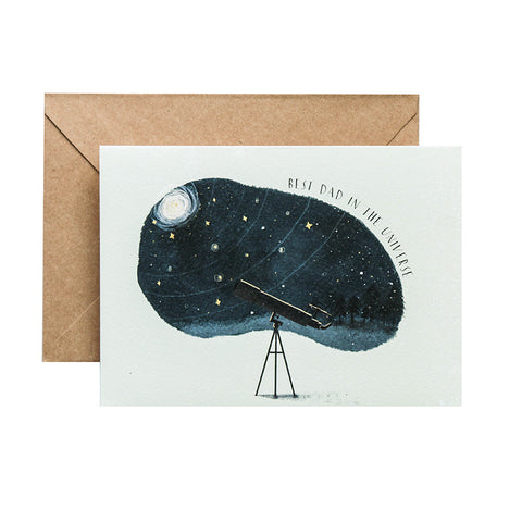 TRAQUE STUDIO - CARD - BEST DAD IN THE UNIVERSE