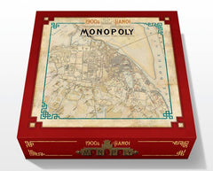 VIETNAM THEMED GAMES - 1900S HA NOI MONOPOLY BOARD