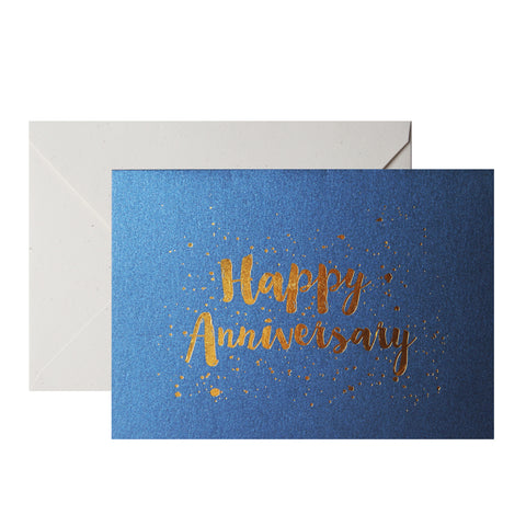 TRAQUE STUDIO - CARD - HAPPY ANIVERSARY