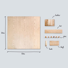 EVERBOARDS - MAGNET WOODEN BOARDS