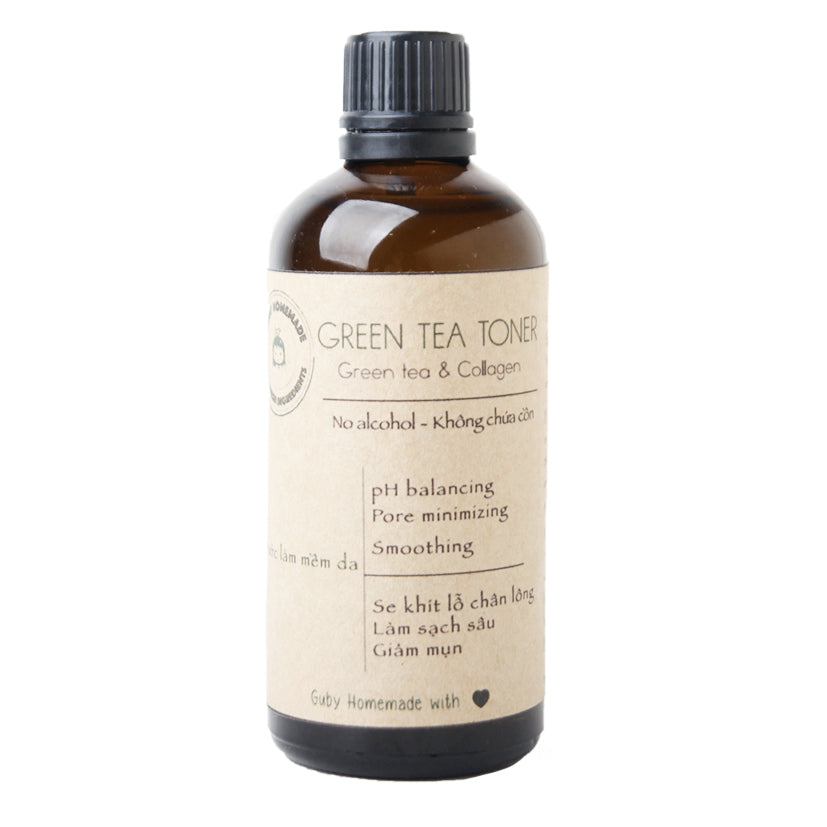 GUBY HOMEMADE - GREEN TEA TONER