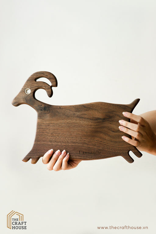 L'annamite - Wooden chopping board deer