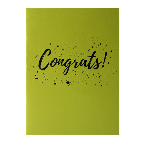 TRAQUE STUDIO - CARD - CONGRATS