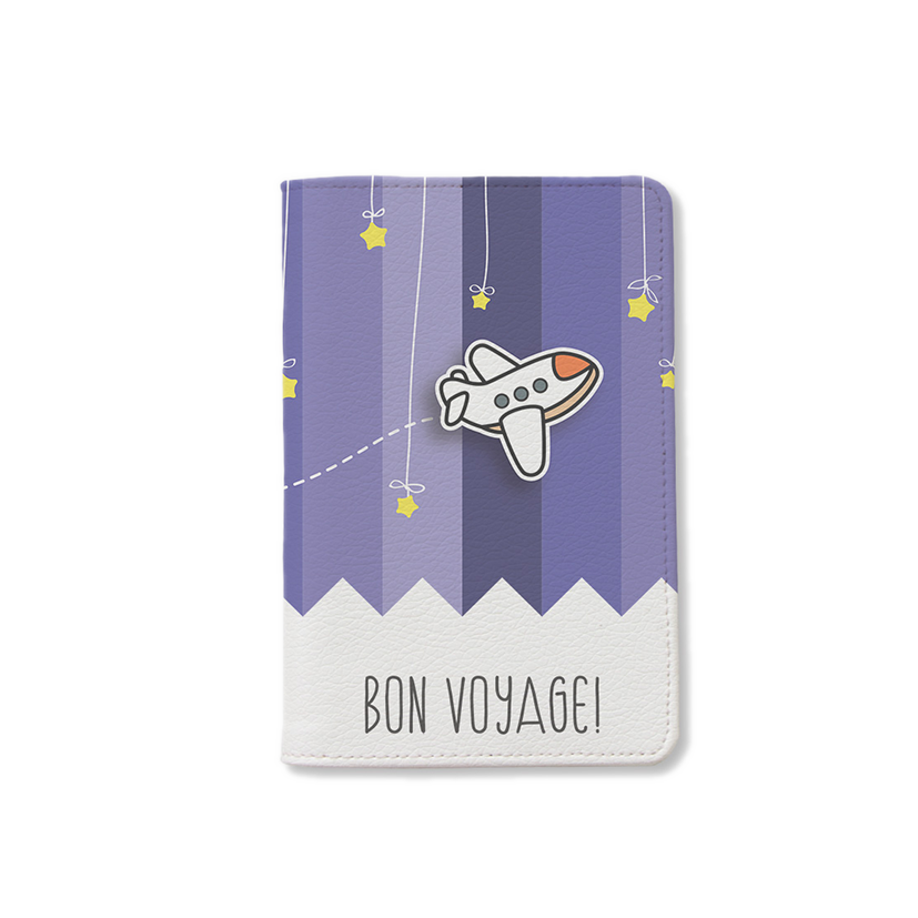 BISU BISU - PASSPORT HOLDER - BON VOYAGE - 002