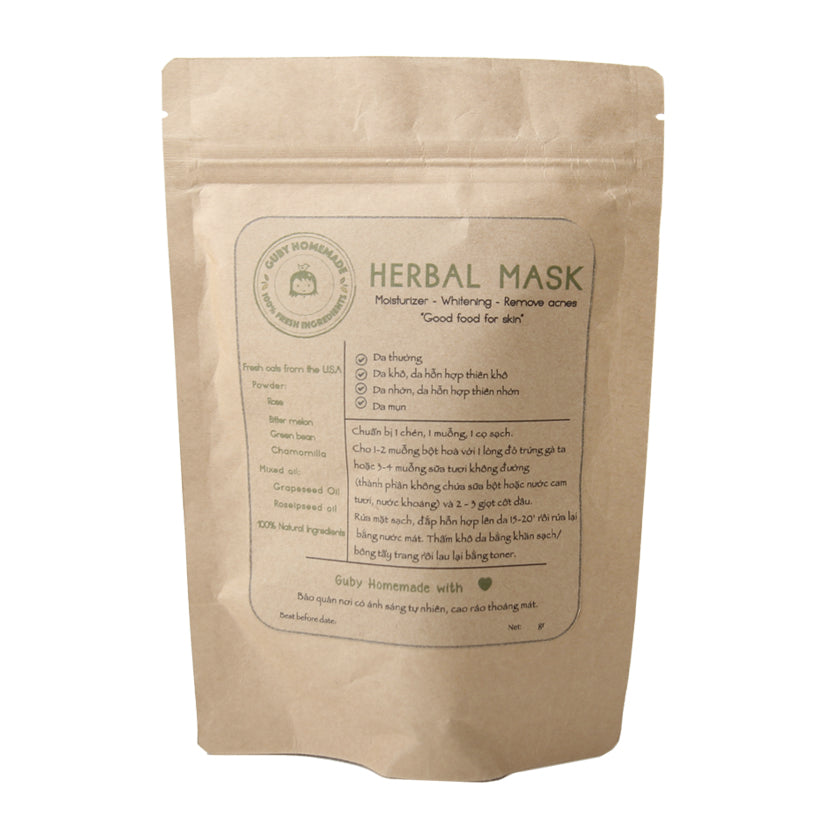 GUBY HOMEMADE - HERBAL MASK