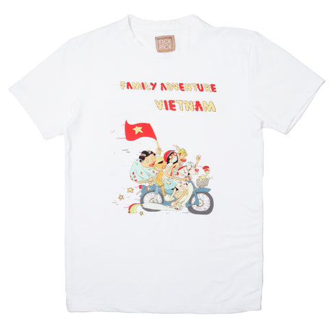 TICKANDPICK - T SHIRT - FAMILY ADVENTURE VIET NAM