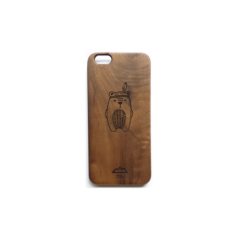 MINIWOOD - CASE IPHONE 6 BEAR