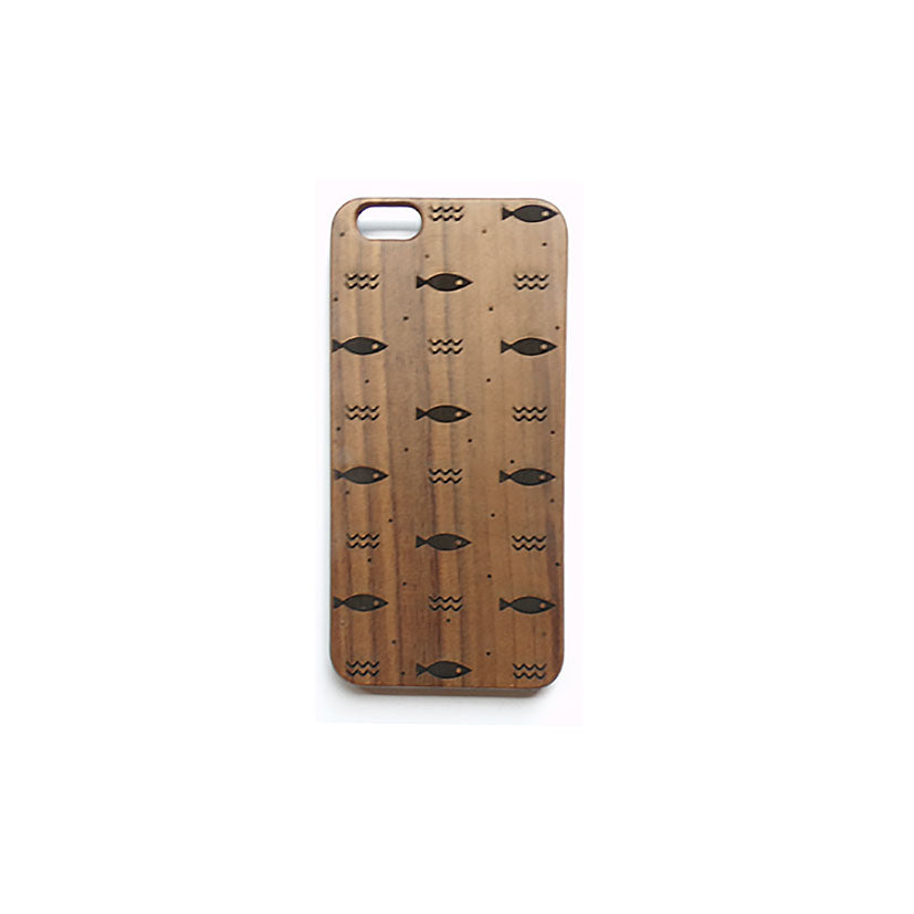 MINIWOOD - CASE IPHONE 6 FISH