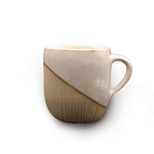 DE-FORM POTTERY - CLAY MUG WHITE