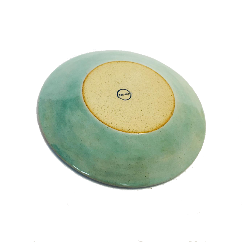DE-FORM POTTERY - CLAY PLATE