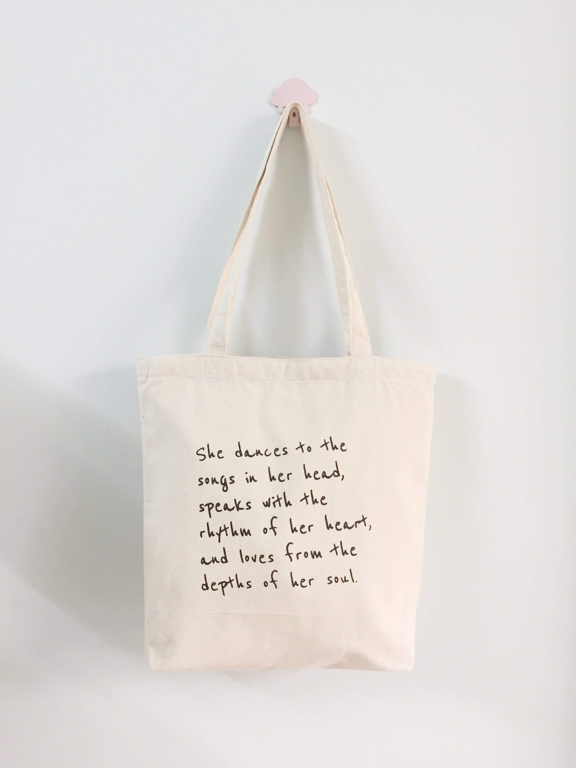 HẠT MƯA - TOTE BAG - QUOTE: SHE