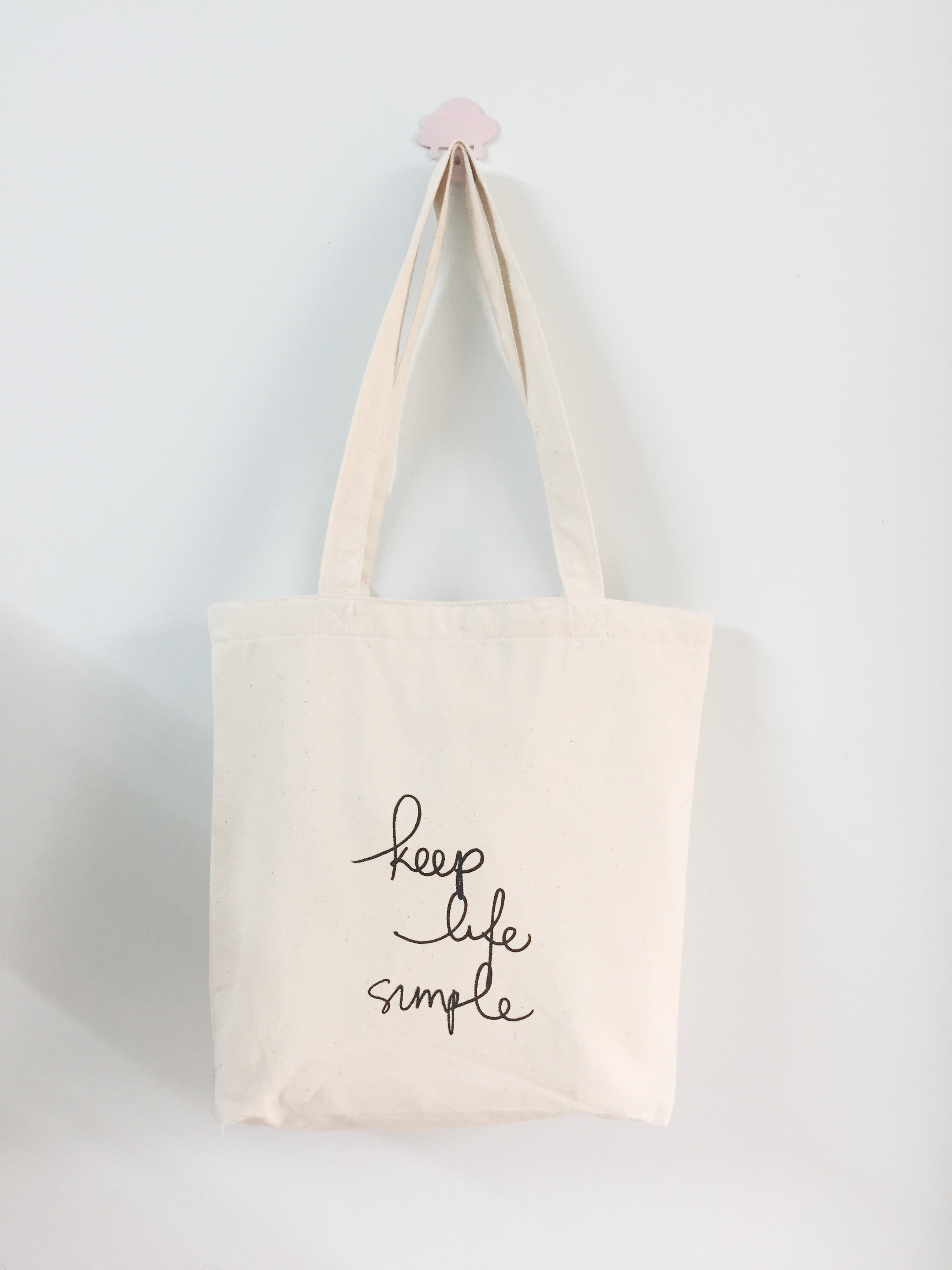 HẠT MƯA - TOTE BAG - QUOTE: KEEP LIFE SIMPLE