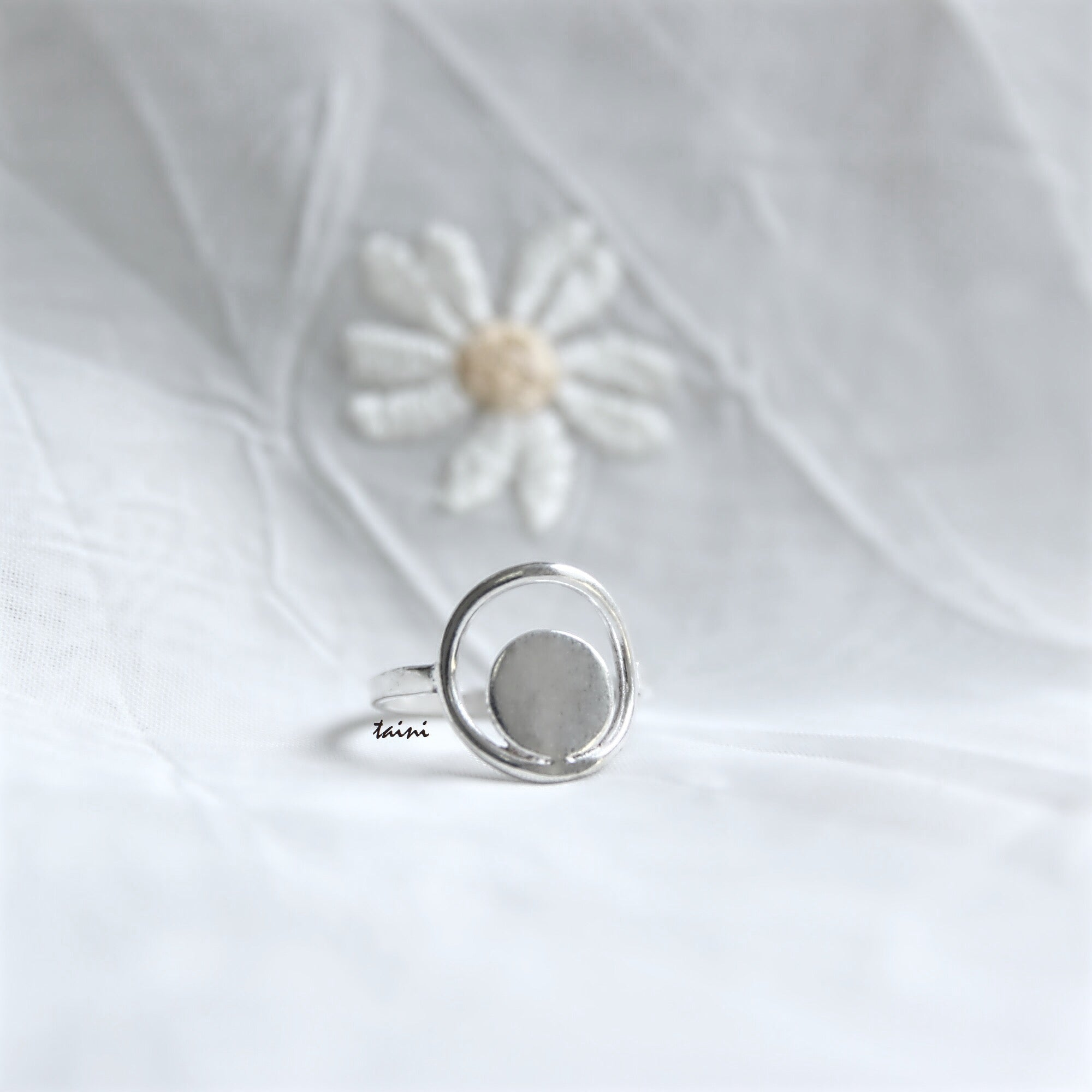 TAINI SILVER - MIX ROUND RING