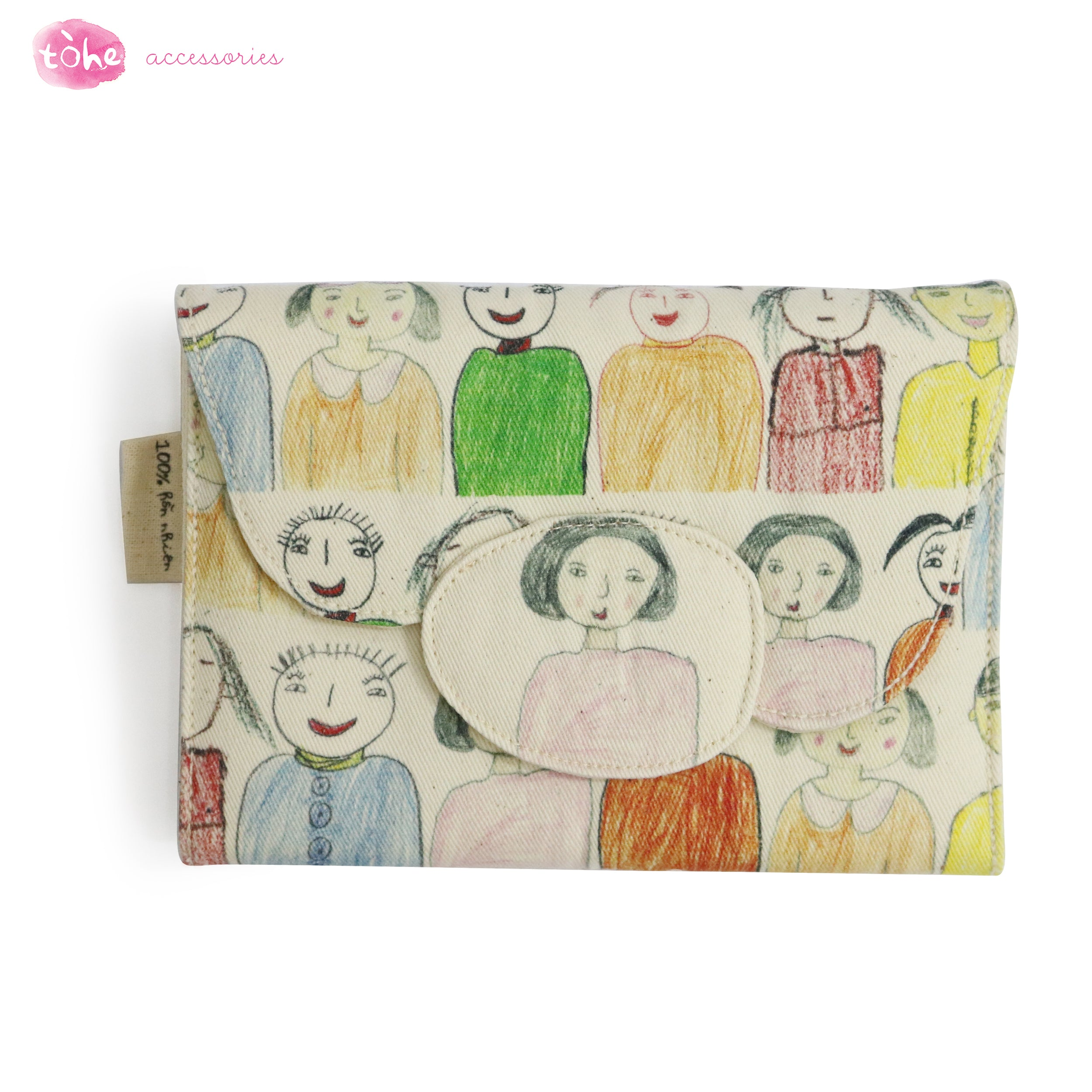TÒ HE - SQUARE WALLET