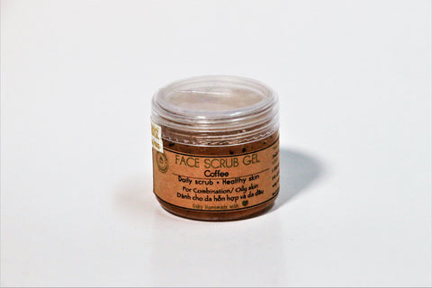 GUBY HOMEMADE - COFFEE FACE SCRUB