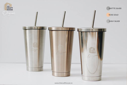 The Craft House _ Stainless Steel Tumbler set